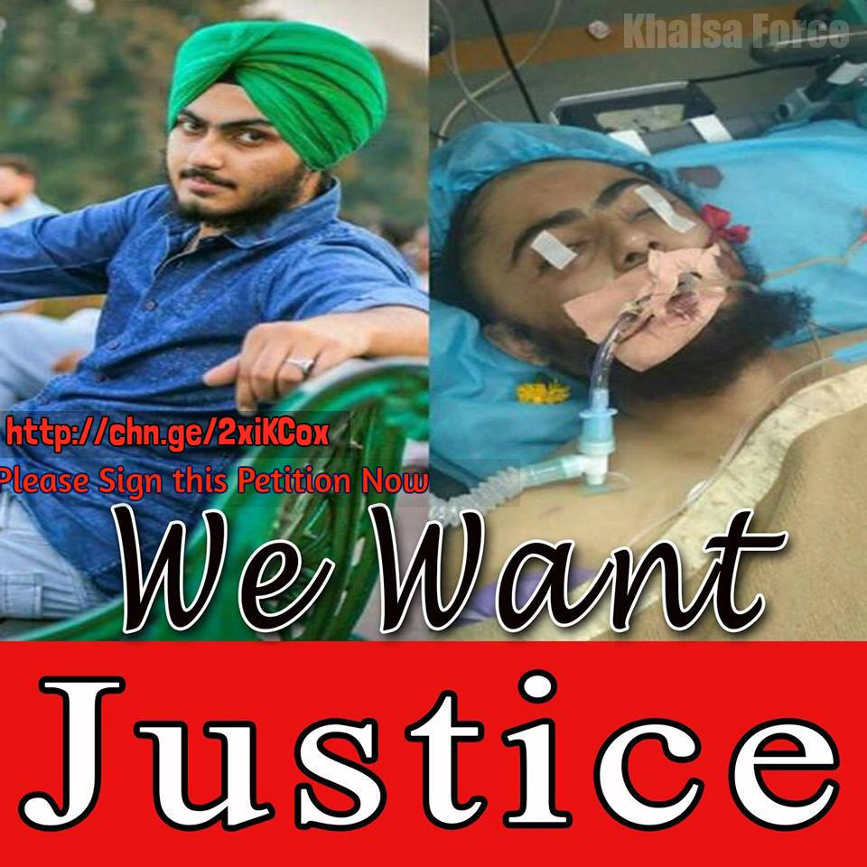 We request to all our friends to change their DP for #GurpreetSingh