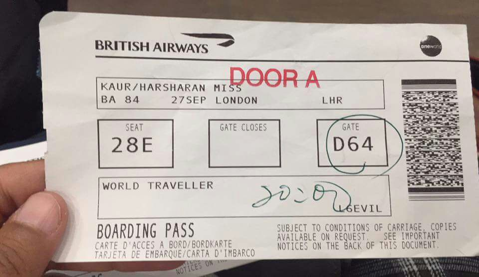 Sikh girl faces discrimination in London flight, shares Facebook post!
