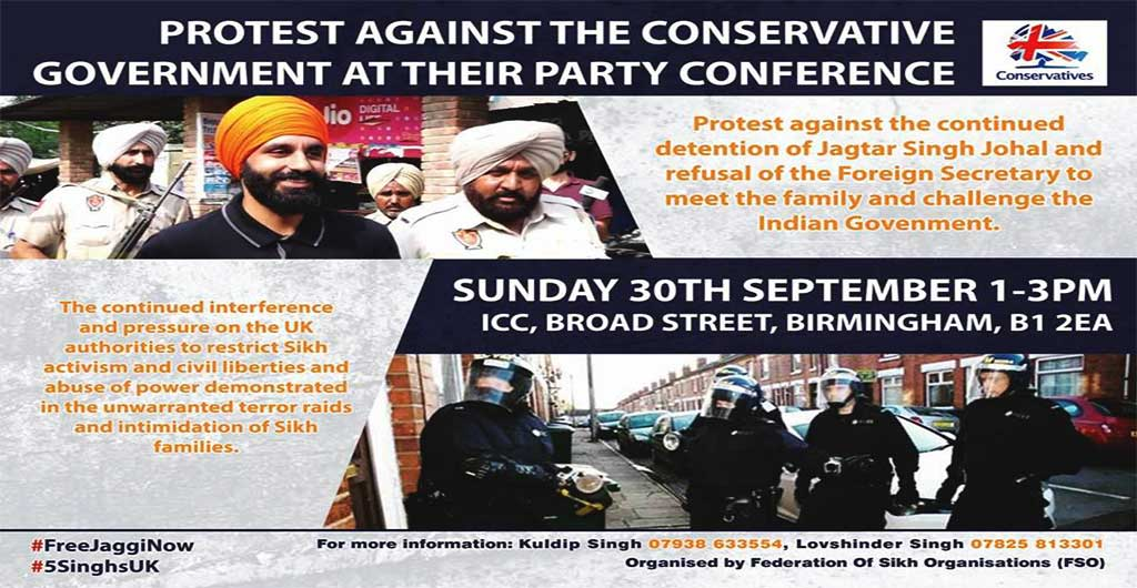 Protest Against The Conservative Government At Their Party Conferences~