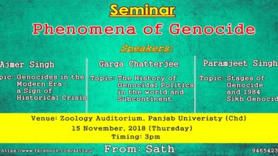 seminar phenomena of genocide
