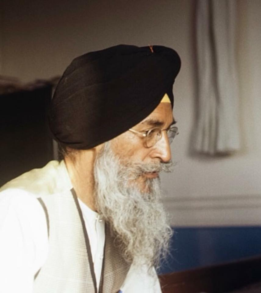 Shaheed General Shabeg Singh meat with Bhindranwale