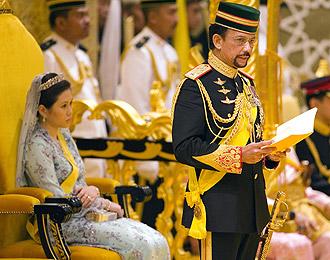 Brunei sultan divorces wife