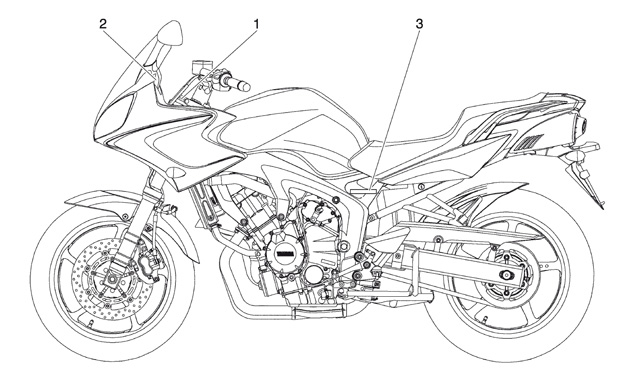 Moto FZ-6 Fazer S2