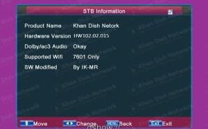 Ali 3510c new software pink menu