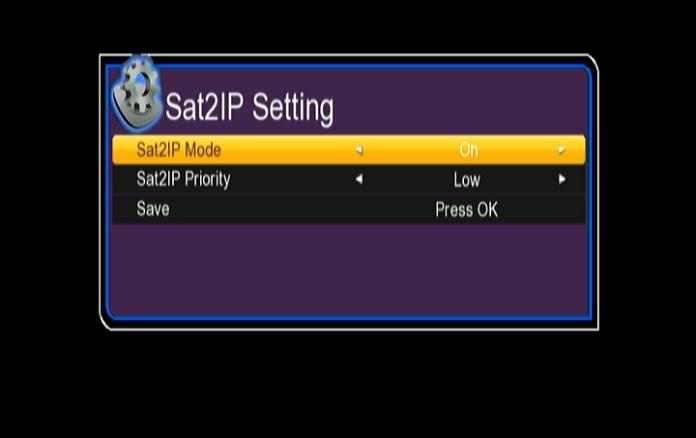 Gx6605s SA2IP software