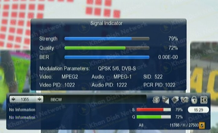 starsat menu gx6605s