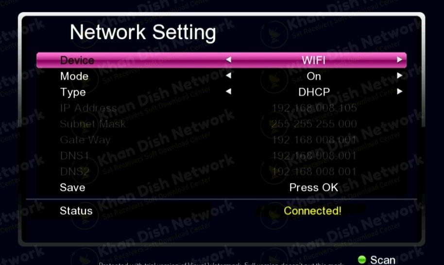 Gx6605 wifi
