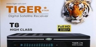 tiger t8 high class hd