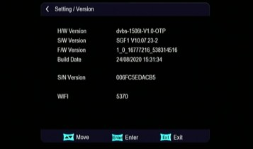 1506t sim receiver new software 2020