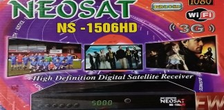 Neosat NS-1506HD 1506tv Built-in wifi new software