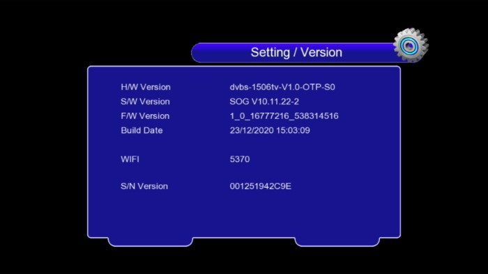 discovery 6666 1506tv new software