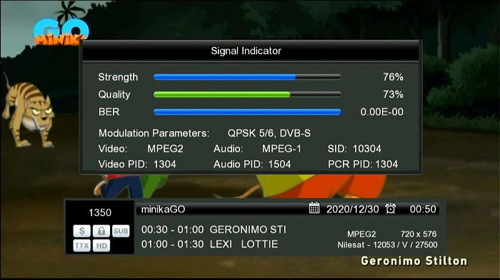 Starsat Gx6605s HW203.00.001