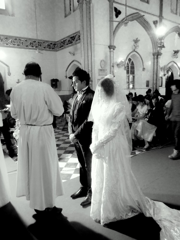 My Friend's Wedding at Cathedral Church of Resurrection, Lahore (2/6)
