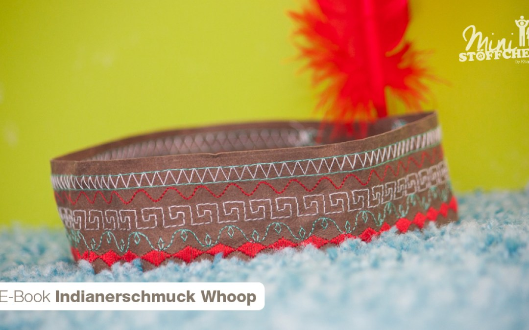 "Freebook: Indianerschmuck ""Whoop"""