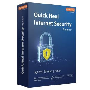 3 PC 1 Year Quick Heal Internet Security Premium Antivirus Latest Version ( Instant Email Delivery of Key ) No CD Only Key