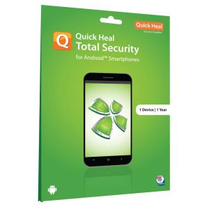 Quick Heal Total Security for Android 1 Device 1 Year ( Instant Email Delivery of Key ) No CD Only Key