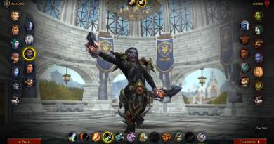 WoW Shadowlands Beta Class Animations - Dark Iron Dwarf Female