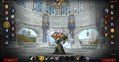 WoW Shadowlands Beta Class Animations - Gnome Female