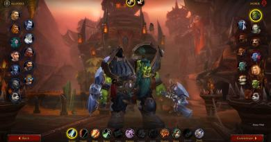 WoW Shadowlands Beta Class Animations - Orc Male