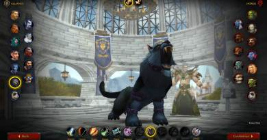 WoW Shadowlands Beta Class Animations - Worgen Male