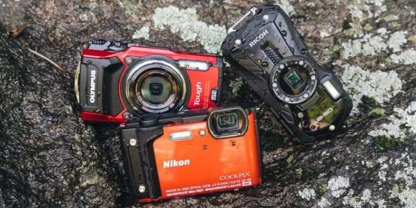 Three cameras for Adrenaline Junkies
