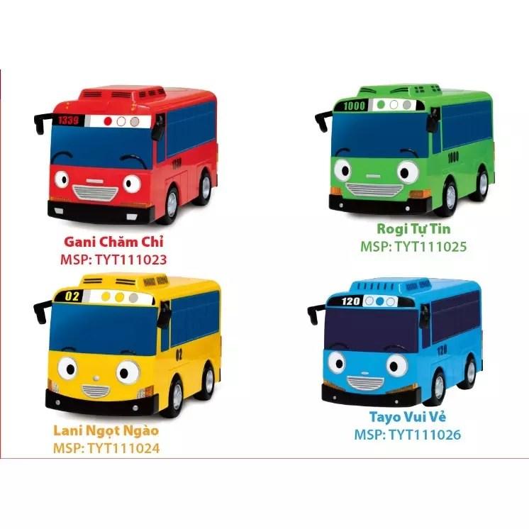 Xe buýt lúc lắc cỡ lớn TAYO