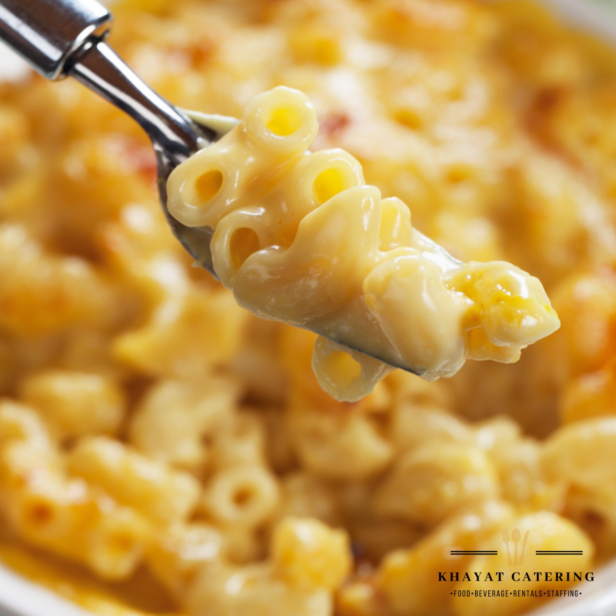 Khayat Catering Mac n cheese