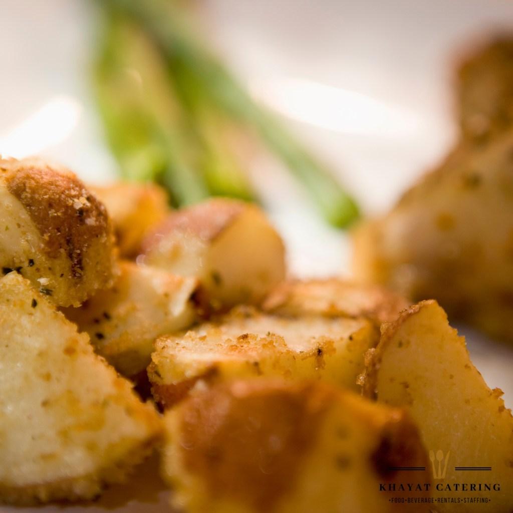 Khayat Catering Roasted Parmesan Potatoes