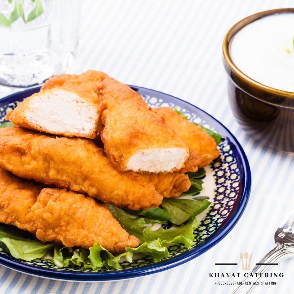 Khayat Catering chicken fingers