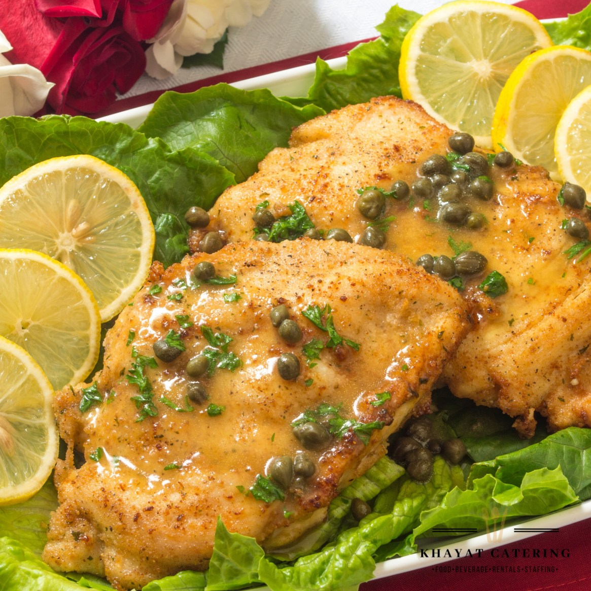 Khayat Catering chicken piccata