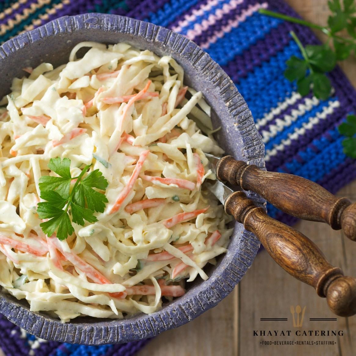 Khayat Catering coleslaw