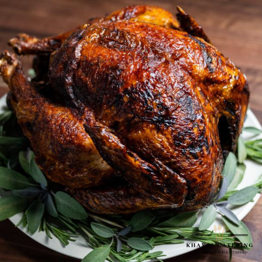 Khayat Catering deep fried turkey