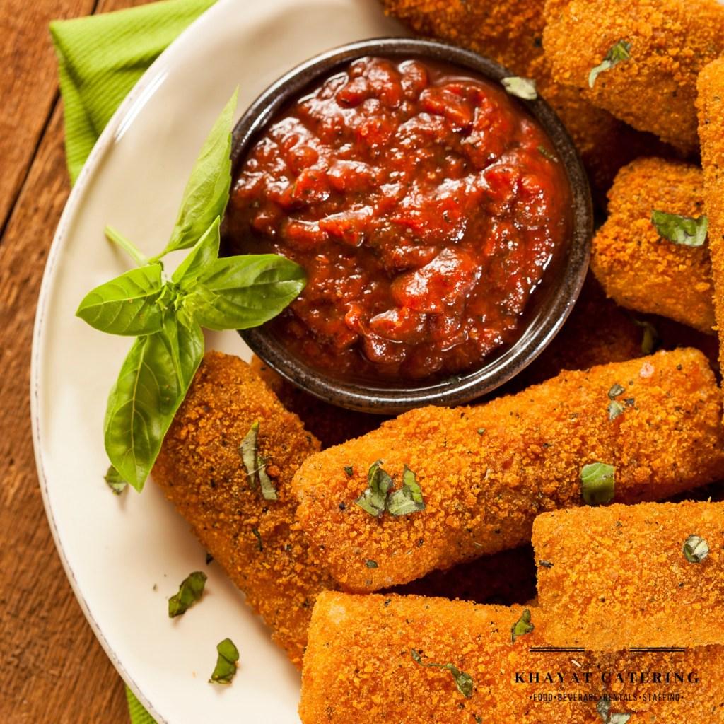 Khayat Catering mozzarella sticks