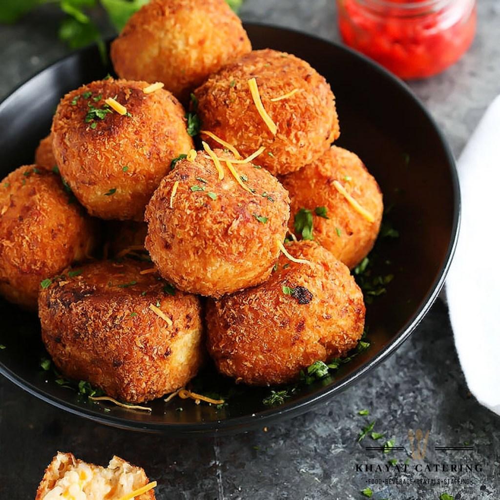 Khayat Catering short rib Aranccini