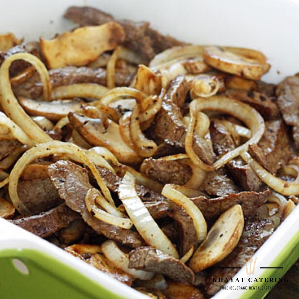 Khayat Catering skirt steak