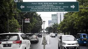 Aturan Ganjil Genap Terbaru di Kota Jakarta