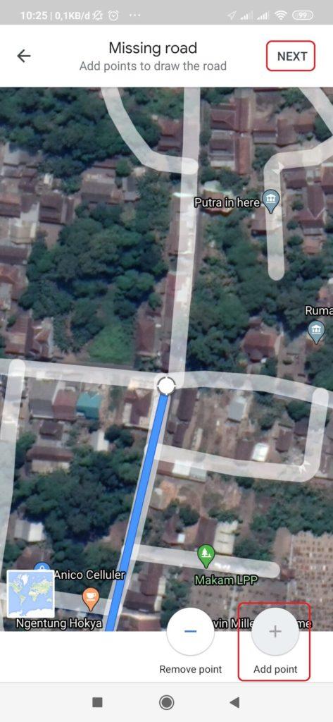 cara menambahkan nama jalan baru di google maps