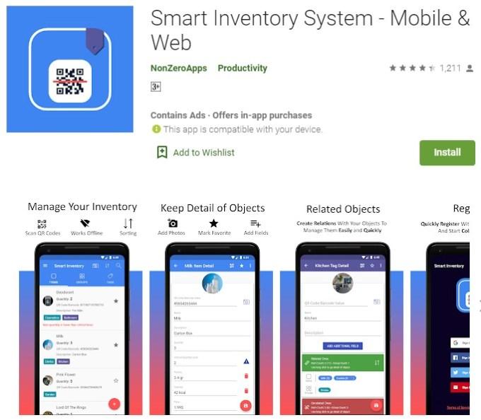 aplikasi stok barang android gratis