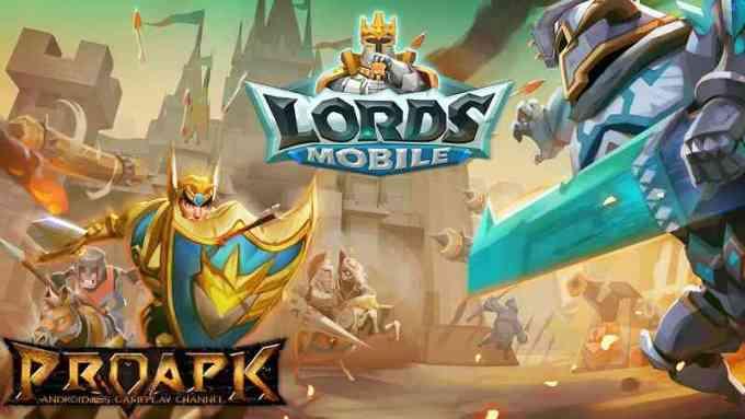 cara bermain lords mobile
