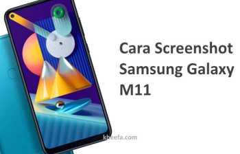 cara screenshot samsung galaxy m11