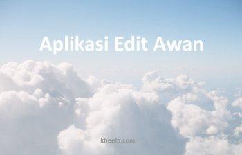aplikasi edit awan