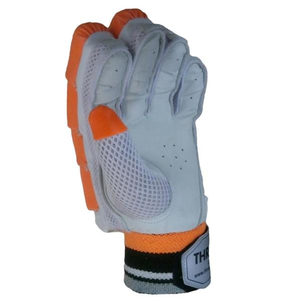 Thrax Power Cricket Batting Gloves Left Hand White
