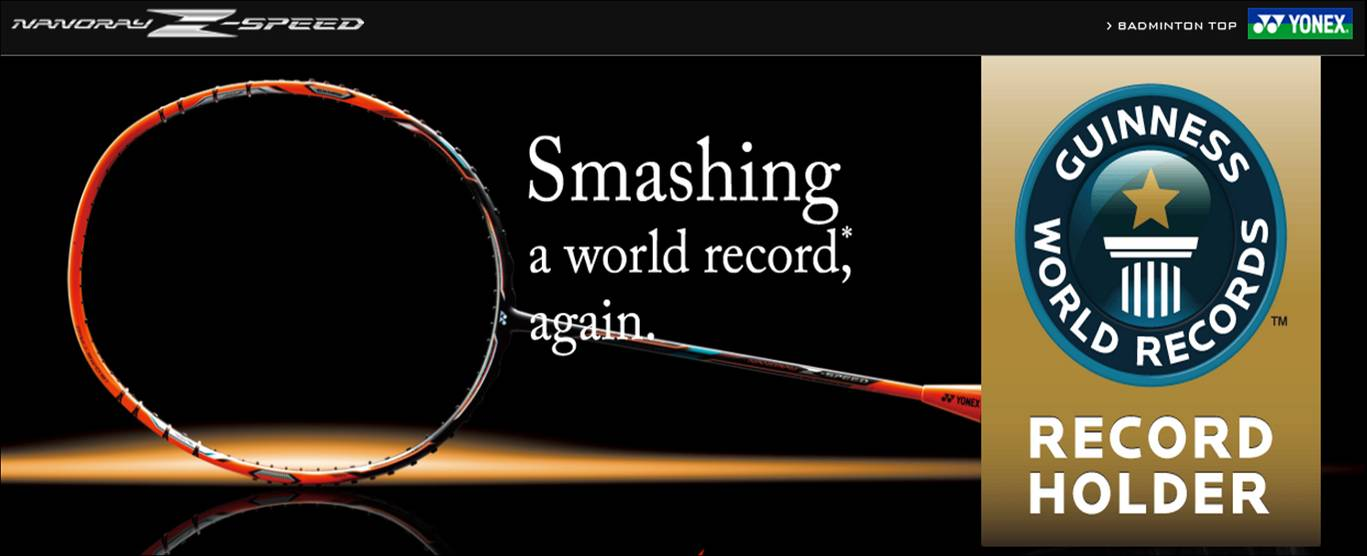 Yonex Badminton Rackets Nanoray z Speed