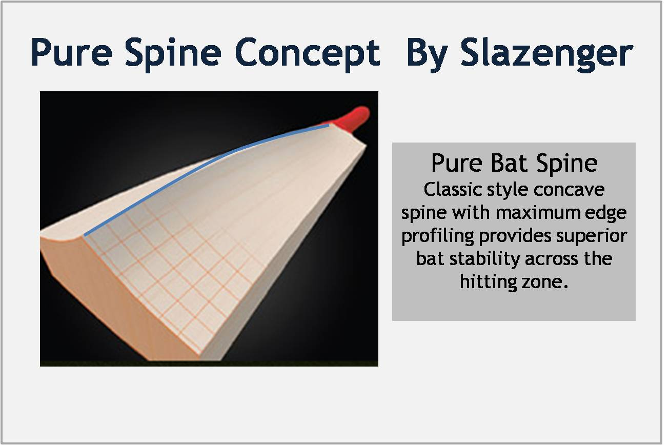 About Pure Spine Concept By Slazenger