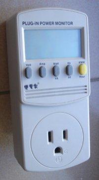 變電家電源監測器‧部分電器的簡單耗電量測試 – Heresy's Space
