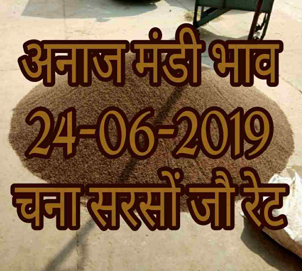 Mandi Bhav 24-06-2019 Mandi Rates Today