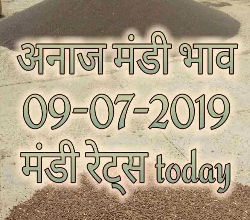 Mandi Rates 09-07-2019 , Mandi Bhav 09-07-2019