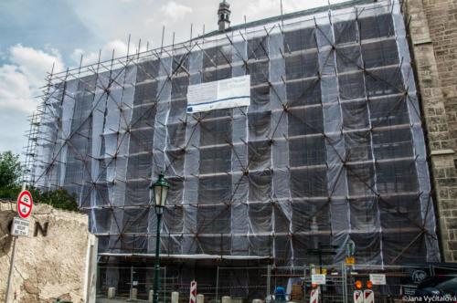 Obnova kostela sv. Jakuba - celkové pohledy
