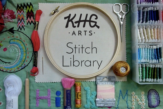 KHG Arts Stitch Library: The Trellis Stitch (Video)