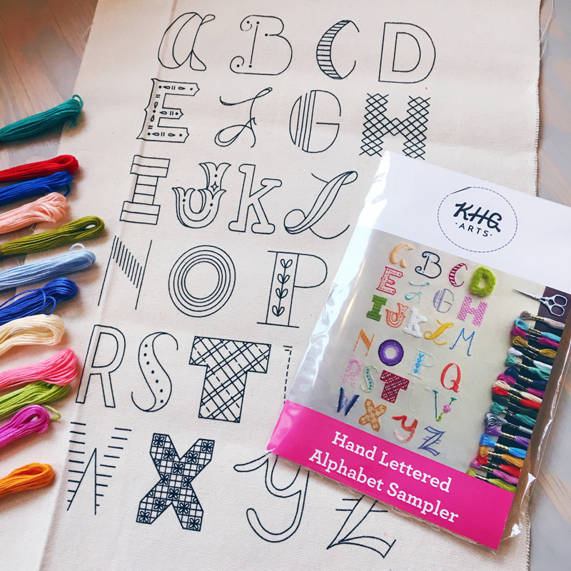 The Hand Lettered Alphabet Sampler—Now in PRINT!